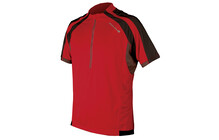 Endura Hummvee S/S Shirt cherry red